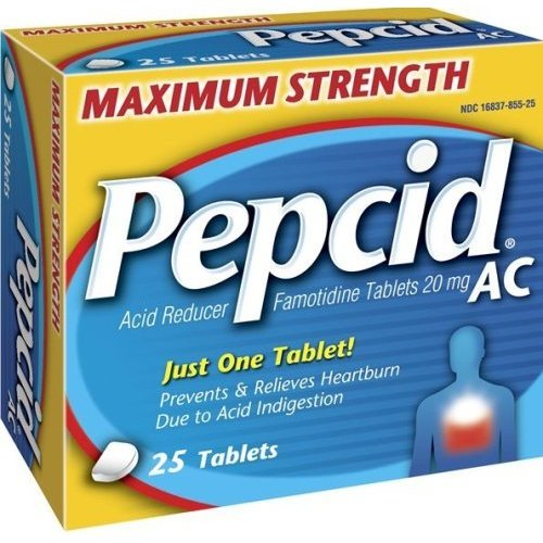 Pepcid Maximum Strength Heartburn Indigestion