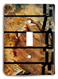 Christian g3 - 1 v Single Light Switch Cover