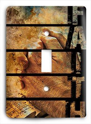 Christian g3 - 1 v Single Light Switch Cover