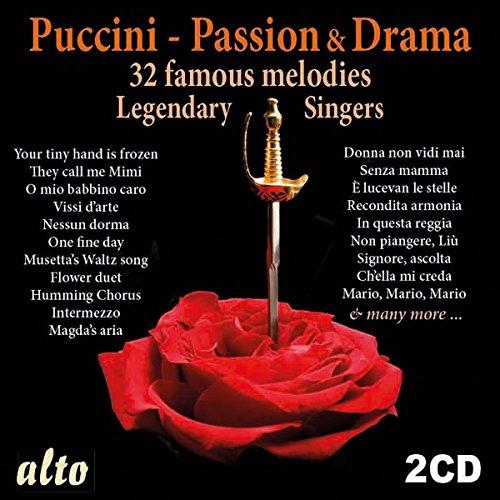CD : Maria Callas - Renata Tebaldi - Vic De Los Angeles - Puccini: Romance & Drama (2 Disc)