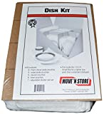 Foam Dish Packing Moving Kit - MBX-120