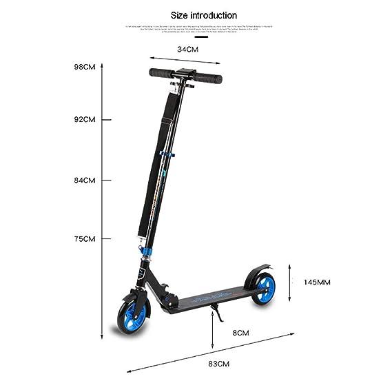 IDE Con hasta 30 km/h Scooter Urbano Urbano Plegable rápido ...