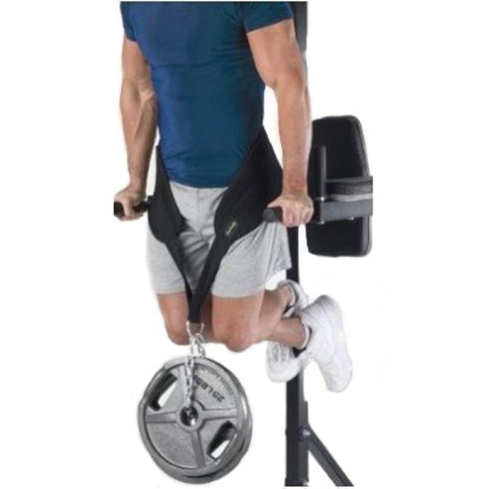Grofitness Dip Belt with Chain Weightlifting Waist Support Belt Body ...