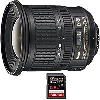 Nikon AF-S DX NIKKOR 10-24mm f/3.5-4.5G ED Lens (2181) with Sandisk Extreme PRO SDXC 128GB UHS-1 Memory Card
