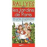 Rallyes dans les jardins parisiens - Boite 10 cartes d'explorateur pour découvrir la capitale