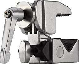 Kupo Convi Clamp with Adjustable Handle - Silver, KG701712