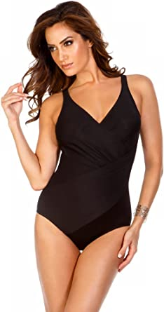 Women/'s Swimwear Miraclesuit Must Haves Oceanus Underwire One-Piece DDD-Cups