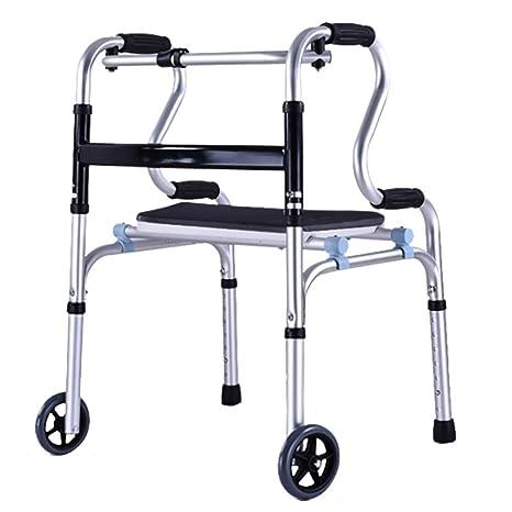 KOSHSH El Marco Que Camina al Aire Libre, Andador de Aluminio ...
