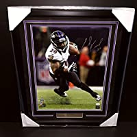 Ed Reed Signed Autographed Framed 16x20 Photo #3 Jsa Coa Baltimore Ravens