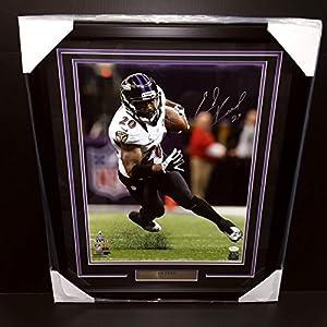 Ed Reed Signed Autographed Framed 16x20 Photo #3 Jsa Coa Baltimore Ravens