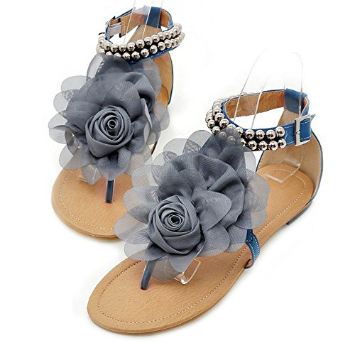 Summer Fashion Flower Beaded Sandals product image