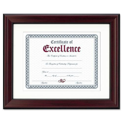 Dax N3246S1T Rosewood Document Frame, Wall-Mount, Wood, 11 x 14