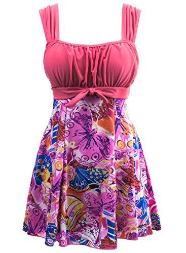 Wantdo Women's Swimwear Swimsuit Plus Size Swimming Costume - Swimwear Costumes