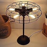 MUTANG Loft Estilo Industrial Retro Lámpara de Mesa Diseño de ...