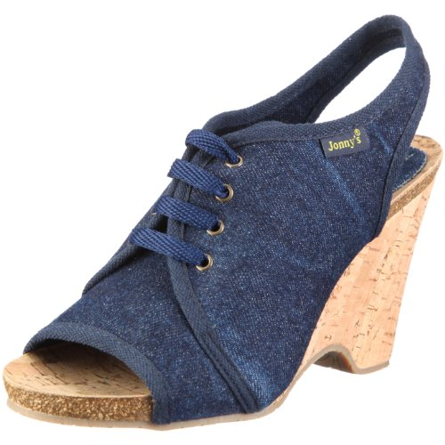 Jonnys Raquel 0882-T - Sandalias de vestir para mujer Azul