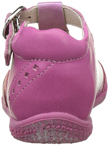 babybotte Saorine, Zapatillas Altas para Niñas Rosa (Fuchsia)