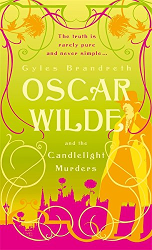 book cover of Oscar Wilde and the Candlelight Murders