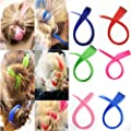 Bundle 24 Pieces of 20 Inches Multi-colors Party Highlights Colorful Clip in Synthetic Hair Extensions?straight long Hairpiece