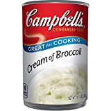 Campbell's Condensed Cream of Broccoli Soup, 10.5 oz. Can