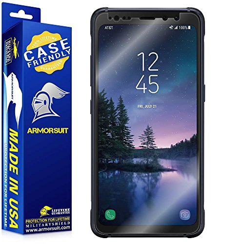 ArmorSuit MilitaryShield [Case Friendly] Screen Protector for Samsung Galaxy S8 Active - Anti-Bubble HD Clear Film