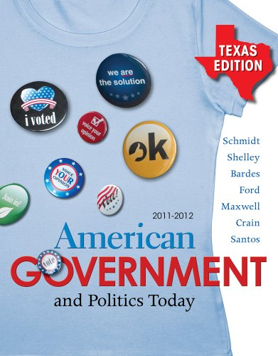 Bundle: American Government and Politics Today - Texas Edition, 2011-2012, 15th + Latino-American Politics Supplement