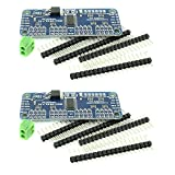 Optimus Electric 2pcs 16 Channel 12-Bit I2C PWM Motor Driver Module from