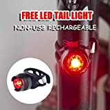 victagen Bike Light,Bicycle Front & Tail