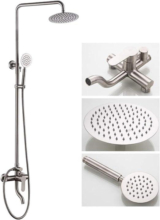 JYKING - Columna de ducha con 3 funciones, con alcachofa y ...