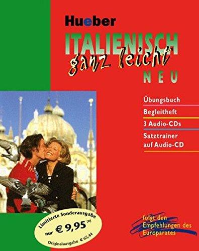 Italienisch ganz leicht. Neu. 4 Audio-CDs m. Übungsbuch u. Begleitheft