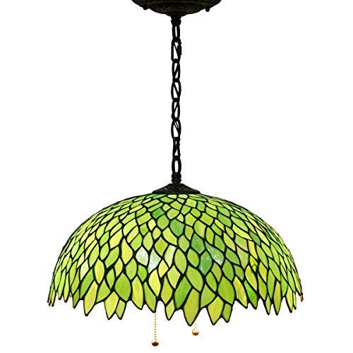 Green Glass Light Pendant in US - 9