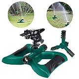 Lawnfit Lawn Impact 360 Degree Rotating Sprinkler, Large, Green