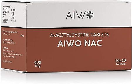 Veteran AiWO NAC Supplement | NAC 600mg | N Acetyl Cysteine (100 Tablets)