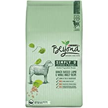Purina Beyond Natural Dry Dog Food, Simply 9, Ranch Raised Lamb and Whole Barley Recipe, 14.5-Pound bag, Pack of 1