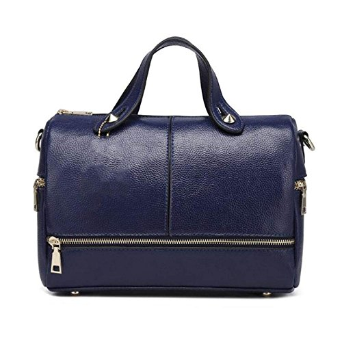 Pillow Pu Womens shoulder Bag Atmosphere Blue Crossbody Handbag dZXqaXw
