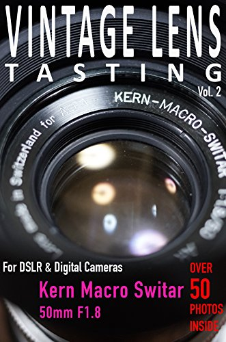 VINTAGE LENS TASTING Vol. 2: Kern Macro Switar 50mm, used for sale  Delivered anywhere in USA