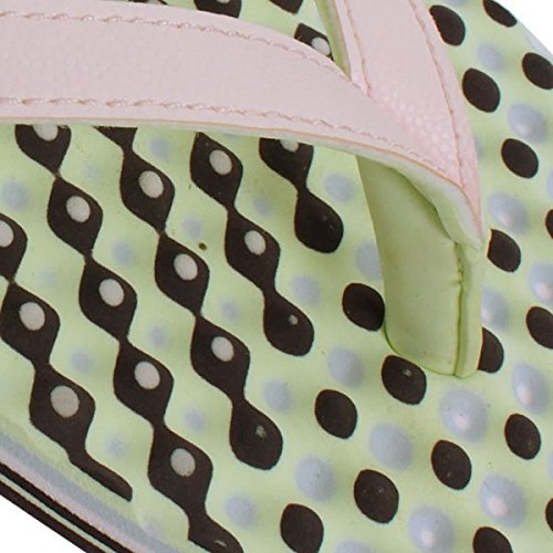 size 40 3f9c7 6bc48 adidas Damen Zehensandale Eezay Dots Zehentrenner Amazon.de Schuhe   Handtaschen