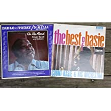 Collection of two (2) COUNT BASIE LPs: On The Road (Pablo 2312112) and The Best of Basie (Emus ES-12013).