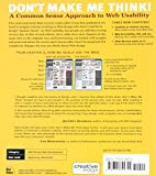 Don't Make Me Think: A Common Sense Approach to Web