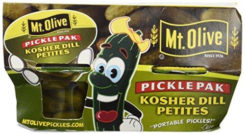 MT OLIVE pickle pak KOSHER DILL PETITES 3pack (Best Of Mt Olive)