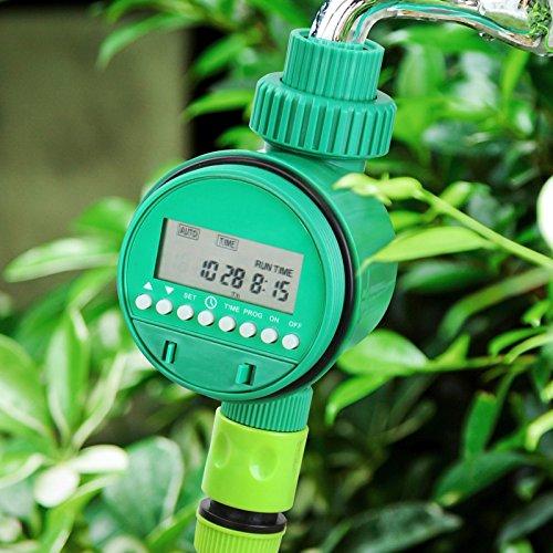Timbertech Bewässerungsuhr für Gartenarbeit Bewässerungssystem Bewässerungssteuerung digitales intelligentes Bewässerungssystem LCD Display