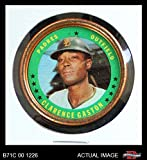 1971 Topps Coins # 1 Cito Gaston San Diego Padres (Baseball Card) Dean's Cards 3 - VG Padres