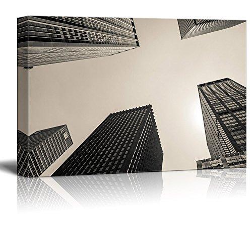 Highrise Buildings Viewed from Below