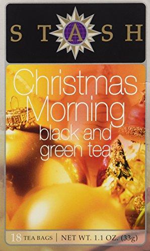 Haus Liquor Black (Christmas Morning Black Tea (Seasonal) Stash Tea 18 Tea Bag)
