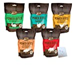 power bites - Merrick Grain Free Power Bites Variety Pack - 5 Total Flavors: Chicken, Texas Beef, Turducken, Salmon, and Rabbit (5 Bags Total, 6oz Each)