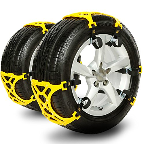 Anti Slip Tire Chain, Snow Chains for Cars, - Automotive Tires
