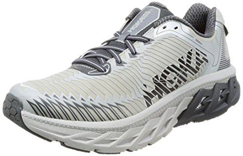 HOKA ONE ONE Men's Arahi Running Shoe Lunar Rock/Castlerock Size 9 M US (Lunar Rock)