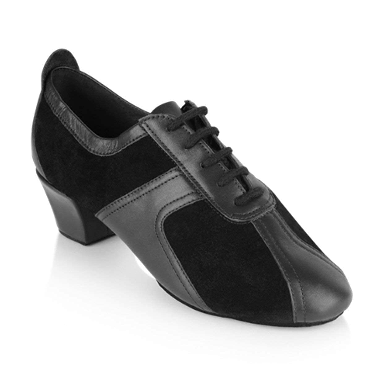 Ray Rose Breeze 410 Unisex Leather & Suede Practice Teaching Dance Shoes (1.5 Inch Heel)