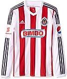 Adidas Jersey  Chivas Guadalajara H JSY L para Hombre, Color Rojo/Blanco, Talla M