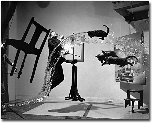 Surrealist Artist Salvador Dali In Motion 11x14 Museum Silver Halide Photo Print ()