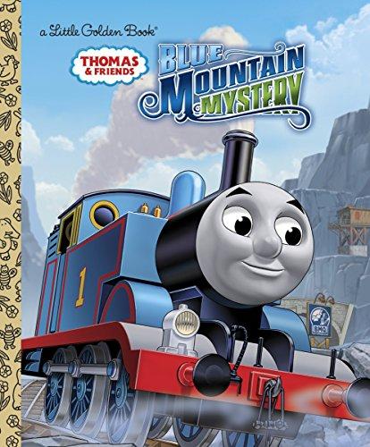 Blue Mountain Mystery (Thomas & Friends) (Little Golden Book)